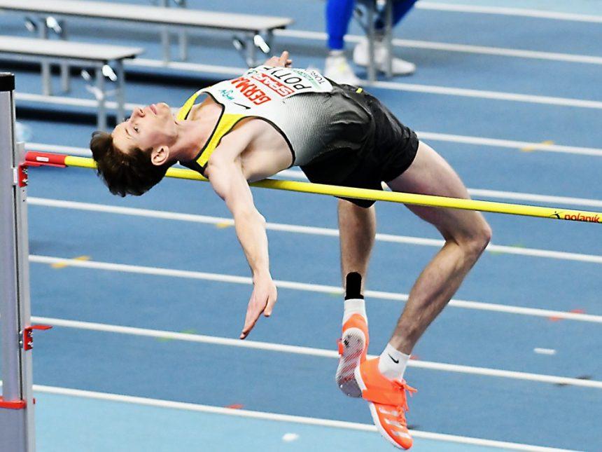 Hallen-EM Tag 1: Tobias Potye springt ins Finale