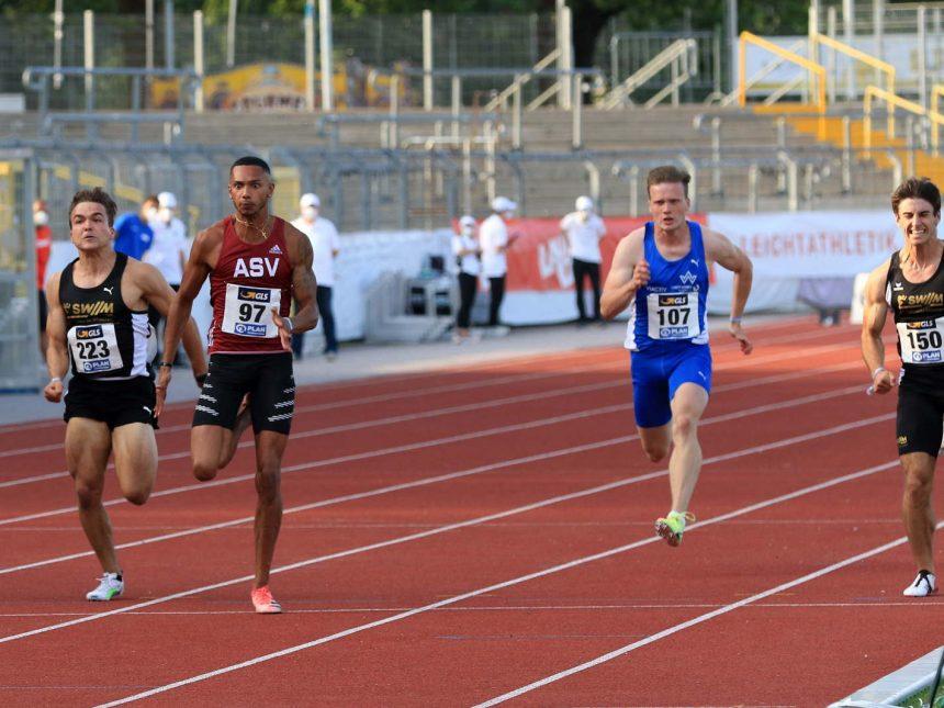 Kurzsprinter räumen bei U23-DM drei Medaillen ab – Dantzler meldet sich zurück