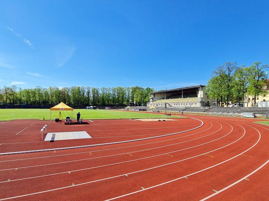 Starke Sprintfelder beim Leichtathletikabend im Münchner Dantestadion