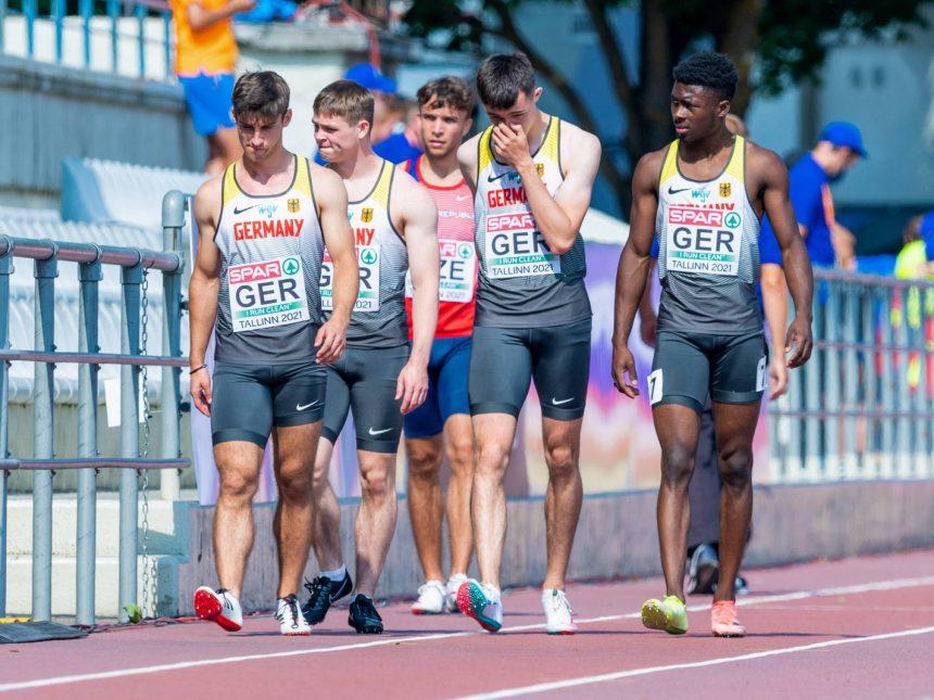 Florian Knerlein scheidet mit DLV-Staffel bei U20-EM in Tallinn aus