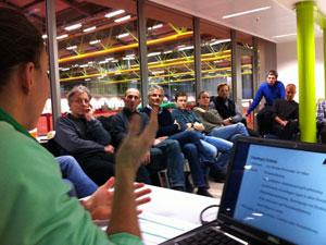 Workshop mit Anne Haug
